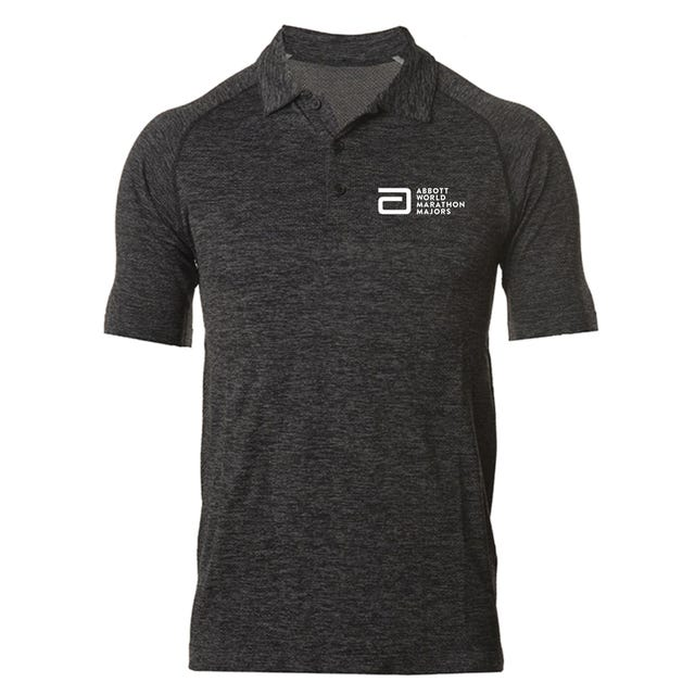 Abbott World Marathon Majors Men's Polo
